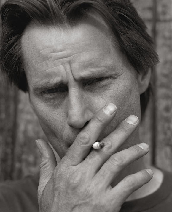 Sam Shepard (with Cigarette), Virgina 1988